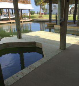 boat dock contruction Galveston TX