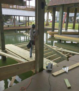 dock contractor galveston